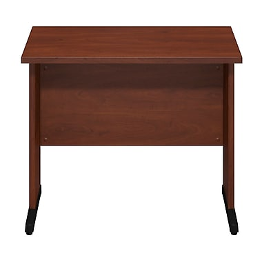 Bush® Business Westfield Elite 36W x 24D C-Leg Desk, Hansen Cherry