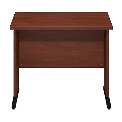 Bush Business Furniture Westfield Elite 36W x 24D C-Leg Desk, Hansen Cherry (WC24529FA)
