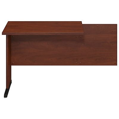 Bush Business Furniture Westfield Elite 36W x 24D C-Leg Return, Hansen Cherry (WC24535FA)