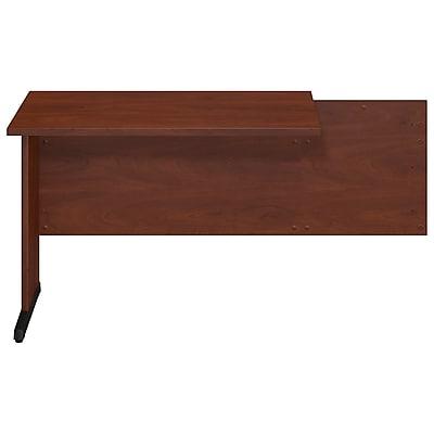 Bush Business Furniture Westfield Elite 42W x 24D C-Leg Return, Hansen Cherry (WC24540FA)