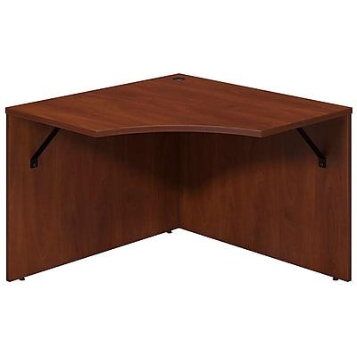Bush Business Furniture Westfield Elite 42W x 42D Corner Connector, Hansen Cherry/Hansen Cherry (WC24541)
