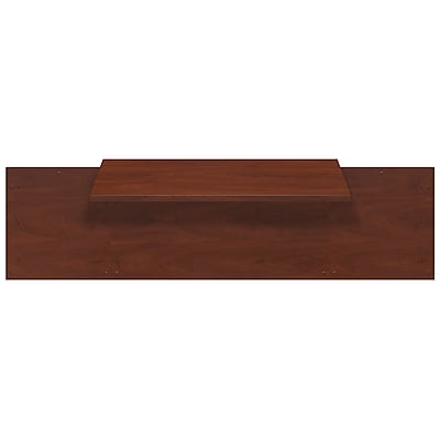 Bush Business Furniture Westfield Elite 42W x 24D C-Leg Bridge, Hansen Cherry (WC24543)
