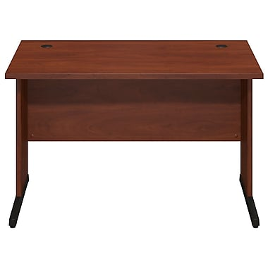 Bush® Business Westfield Elite 48W x 30D C-Leg Desk, Hansen Cherry