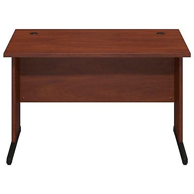 Bush Business Furniture Westfield Elite 48W x 30D C Leg Desk, Hansen Cherry (WC24550)