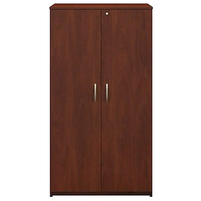 Bush Business Furniture Westfield Elite 36W Storage Wardrobe Tower, Hansen Cherry (WC24557K)