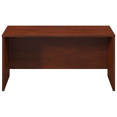 Bush® Business Westfield Elite 60W x 24D Desk Shell, Credenza, Return, Hansen Cherry