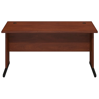 Bush® Business Westfield Elite 60W x 30D C-Leg Desk, Hansen Cherry