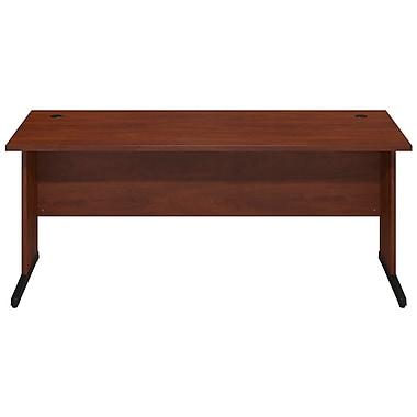 Bush® Business Westfield Elite 72W x 30D C-Leg Desk, Hansen Cherry