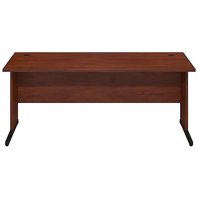 Bush Business Furniture Westfield Elite 72W x 30D C-Leg Desk, Hansen Cherry (WC24574FA)