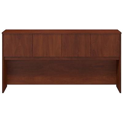 Bush Business Furniture Westfield Elite 72W Hutch, Hansen Cherry, Installed (WC24578FA)