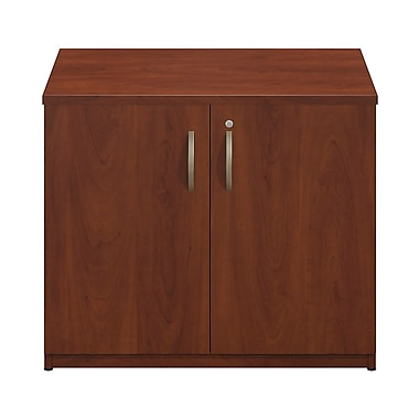 Bush® Business Westfield Elite 36W Storage Cabinet, Hansen Cherry
