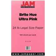 JAM Paper Legal Colored Paper, 100/Pack
