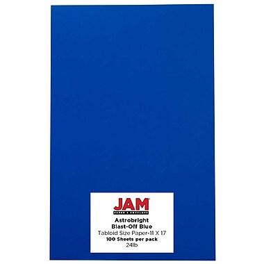JAM Paper – Papier recyclé Brite Hue 11 x 17 po, 100/paquet