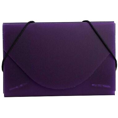 Jam PaperMD – Étui pour cartes professionnelles, violet métallique, paquet de 5