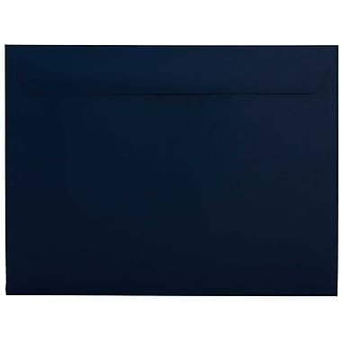 JAM Paper® 9.5 x 12.63 Booklet Envelopes, Navy Blue, 100/Pack (63928407B)