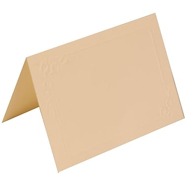 JAM Paper® Placecards, 2.5 x 3.5, Ivory Lily Wedding Place Cards, 250/Pack (312625288)