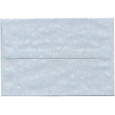 JAM Paper – Enveloppe A8 en papier recyclé, parchemin bleu, 250/paquet
