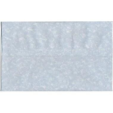 JAM Paper – Enveloppes A10 en papier recyclé sulfurisé bleu, 250/paquet