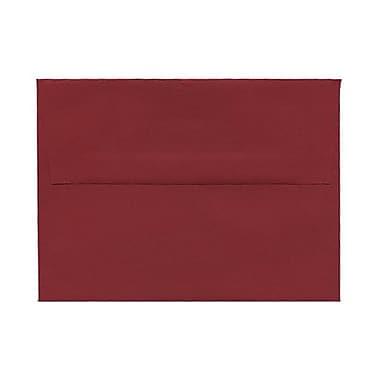 JAM Paper – Enveloppes simples A2, rouge foncé, 250/paquet