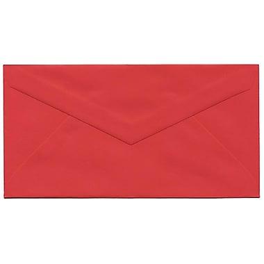 JAM Paper – Enveloppes recyclées Brite Hue nº 7,75 (3,88 x 7,5 po), rouge, 500/bte