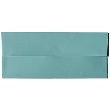 JAM Paper – Enveloppes recyclées no 10, 4,13 x 9,5 po, turquoise, 500/paquet