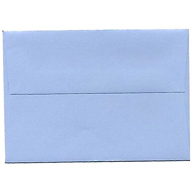 JAM Paper® 4bar A1 Envelopes, 3.63 x 5 1/8, Baby Blue, 250/Pack (155622H)