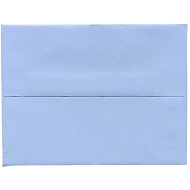 JAM Paper® A2 Invitation Envelopes, 4.38 x 5.75, Baby Blue, 250/Pack (155624H)