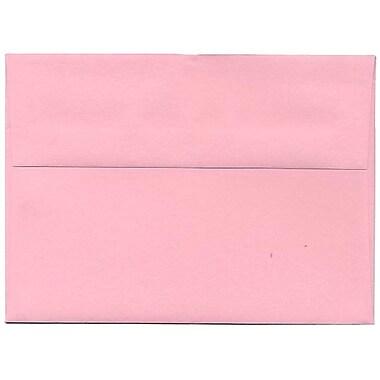JAM Paper – Enveloppes en papier recyclé de couleur vive, rose, 250/paquet