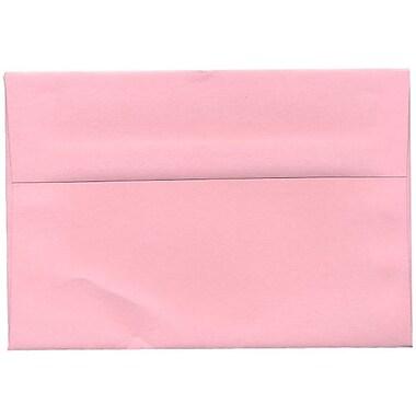 JAM Paper – Enveloppes BriteHue A8 en papier recyclé, rose layette, 250/paquet