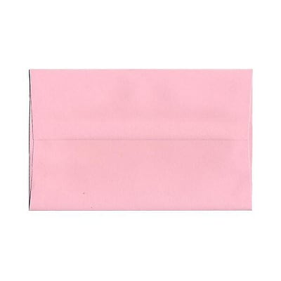 JAM Paper® A10 Invitation Envelopes, 6 x 9.5, Baby Pink, 250/box (155688H)