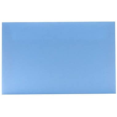 JAM Paper – Enveloppes A10 en papier recyclé, bleu layette, 250/paquet