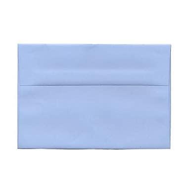 JAM Paper – Enveloppes A9 en papier recyclé, bleu layette, 250/paquet