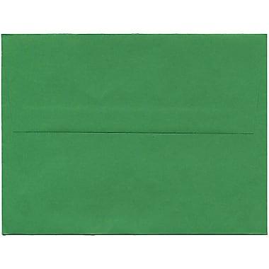 JAM Paper – Enveloppes A2 en papier recyclé, vert, 250/paquet