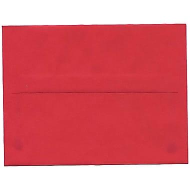 JAM Paper – Enveloppes A2 en papier recyclé, rouge, 250/paquet