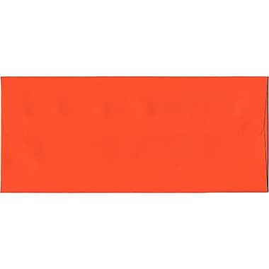JAM Paper® #10 Business Envelopes, 4 1/8 x 9.5, Brite Hue Orange Recycled, 500/Pack (15860H)