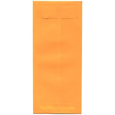 JAM Paper® #10 Policy Envelopes, 4 1/8 x 9 1/2, Brite Hue Ultra Orange, 500/box (15867H)