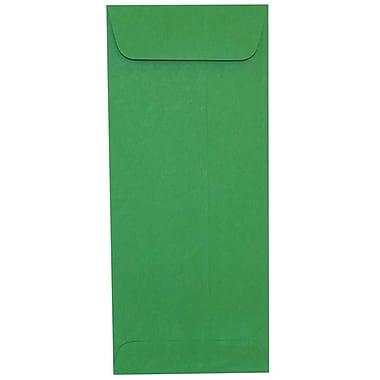 JAM Paper – Enveloppes recyclées n° 10 (4,13 x 9,5 po), vert, 500/bte
