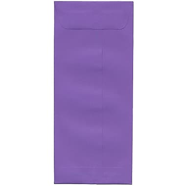 JAM Paper® #10 Policy Envelopes, 4 1/8 x 9.5, Brite Hue Violet Purple Recycled, 500/Pack (15886H)
