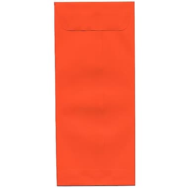 JAM Paper® #10 Policy Envelopes, 4 1/8 x 9.5, Brite Hue Orange Recycled, 500/Pack (15887H)