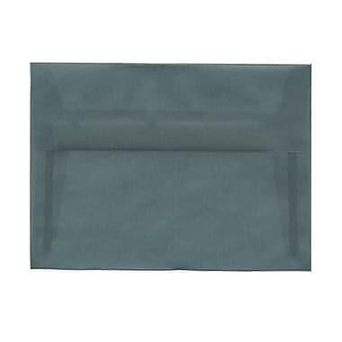 JAM Paper® A7 Invitation Envelopes, 5.25 x 7.25, Ocean Blue Translucent Vellum, 50/Pack (1591743I)
