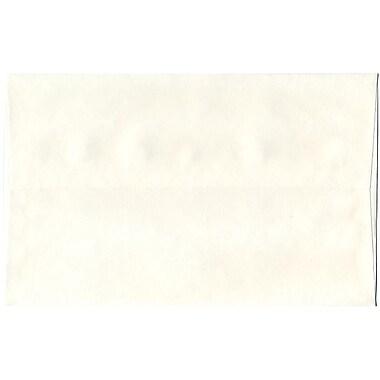 JAM Paper – Enveloppes A10 en papier recyclé, papier parchemin blanc, 250/paquet