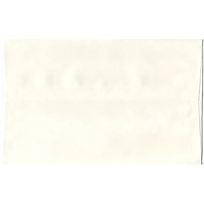 JAM Paper® A10 Invitation Envelopes, 6 x 9.5, Parchment White Recycled, 50/pack (16082I)