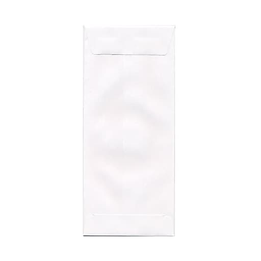 JAM Paper® #11 Policy Business Envelopes, 4.5 x 10.375, White, 50/Pack (1623187I)
