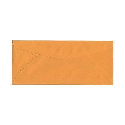 JAM Paper® #11 Business Commercial Envelopes, 4 1/2 x 10 3/8, Manila Brown Kraft, 50/pack (1633180I)