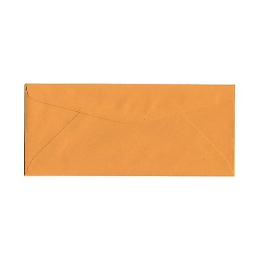 JAM Paper® #11 Business Commercial Envelopes, 4.5 x 10.375, Brown Kraft Manila, Bulk 500/Box (1633180H)