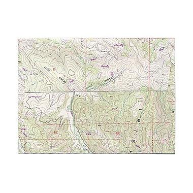 JAM Paper – Enveloppes A6 à motif de carte, 250/paquet