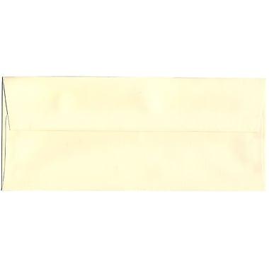 JAM Paper® #10 Business Envelopes, 4 1/8 x 9.5, Strathmore Ivory Laid, 500/Pack (17877H)