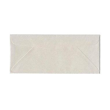 JAM Paper – Enveloppe Stardream nº 10 (4,13 po x 9,5 po) à effet métallisé, quartz, 500/bte