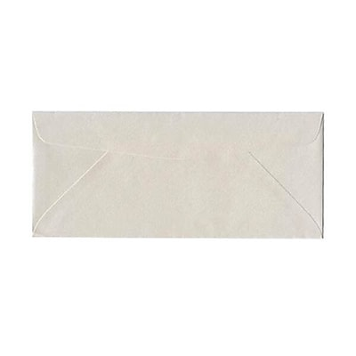 JAM Paper® #10 Business Envelopes, 4 1/8 x 9 1/2, Stardream Metallic Quartz, 500/box (185046H)