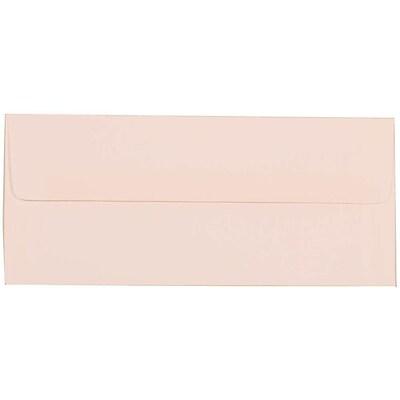 JAM Paper® #10 Business Envelopes, 4 1/8 x 9 1/2, Strathmore Bright White Linen, 50/pack (18506I)